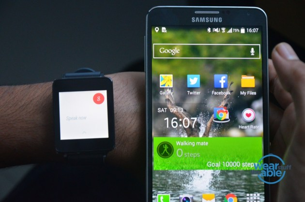 LG G Watch - Android Wear 1.0
