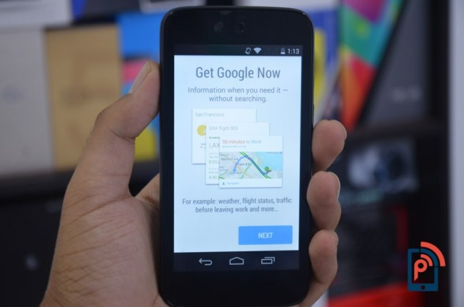 Micromax Canvas A1 - Google Now