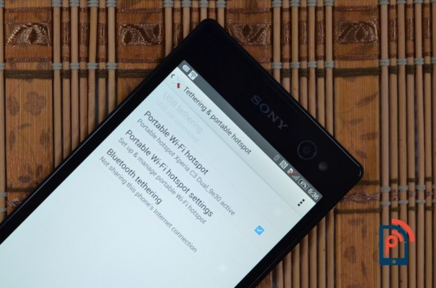 Sony Xperia C3 - Tethering