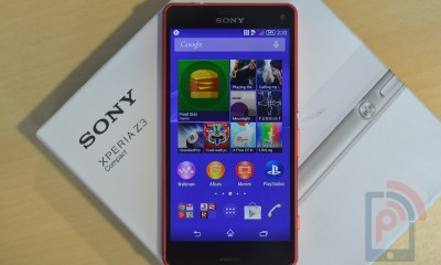 Sony Xperia Z3 Compact Front