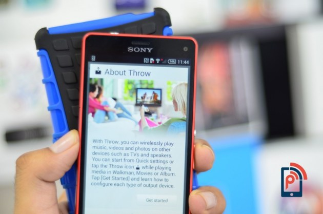Sony Xperia Z3 Compact - Throw Feature