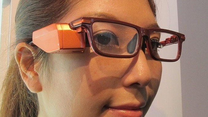 Toshiba Smart Glasses