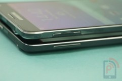 Galaxy Note 4 vs Note Edge Left Side