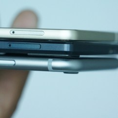 Gionee Elife S5.1 vs Elife S5.5 vs iPhone 6 Camera Thickness