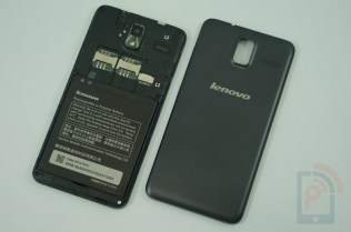 Lenovo S580 Back Cover