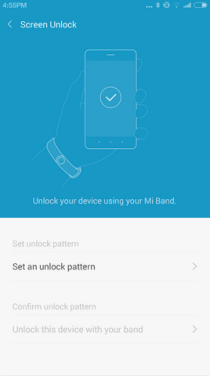 Mi Band App - Android (1)