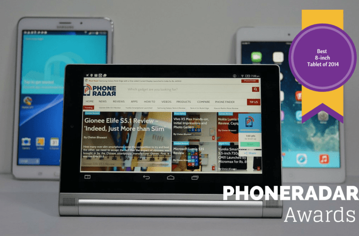 PhoneRadar Awards 2014 - Best 8-inch Tablet of 2014