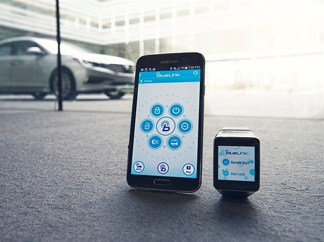 Hyundai Blue Link App on Android Wear