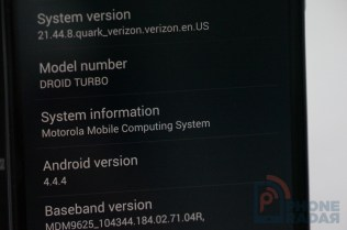 Motorola Droid Turbo OS