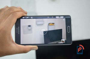 Samsung Galaxy Note Edge - Voice Command for Camera
