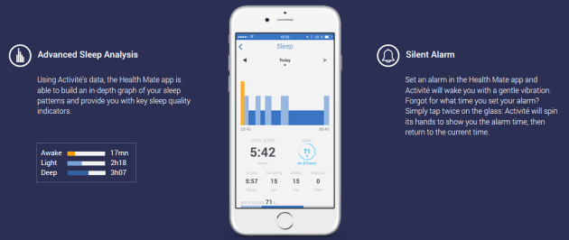 Withings Activite Pop App