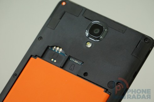 Xiaomi Redmi Note 4G Back Slots Battery