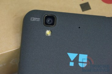 Yu Yureka Rear Camera