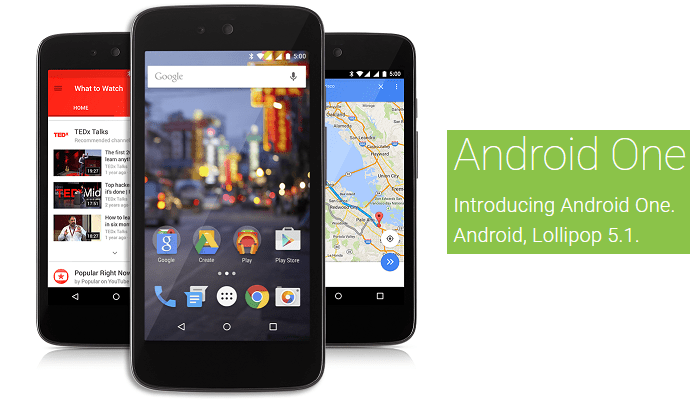 Android 5.1 Android One