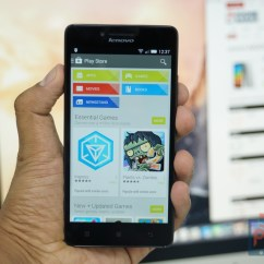 Lenovo A6000 Hands-on Front