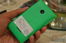Microsoft Lumia 532 Green Back