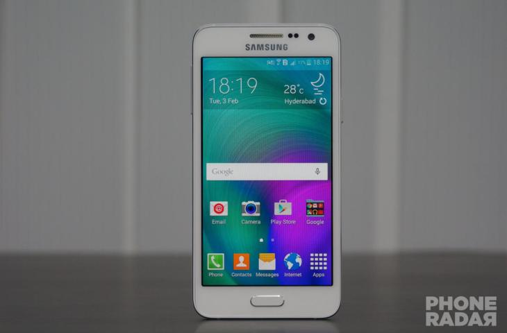 Samsung Galaxy A3 Front