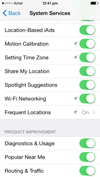 Turn OFF Other Location Monitoring (2)