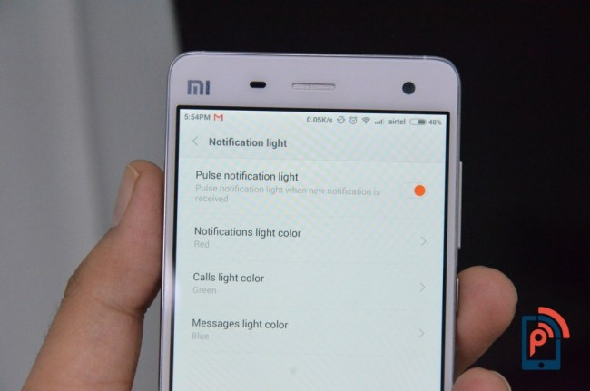 Xiaomi Mi4 - Notifications