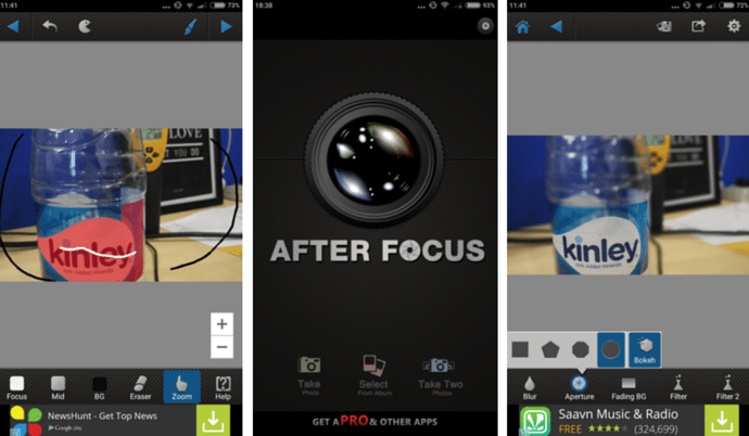 AfterFocus for Android