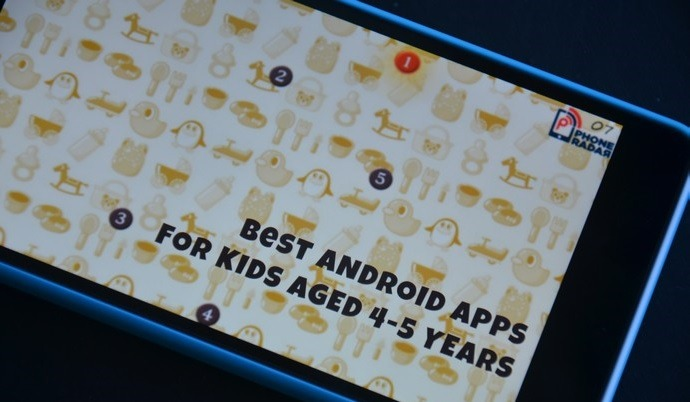 Best Android Apps for Kids aged 4 to 5 years - PhoneRadar