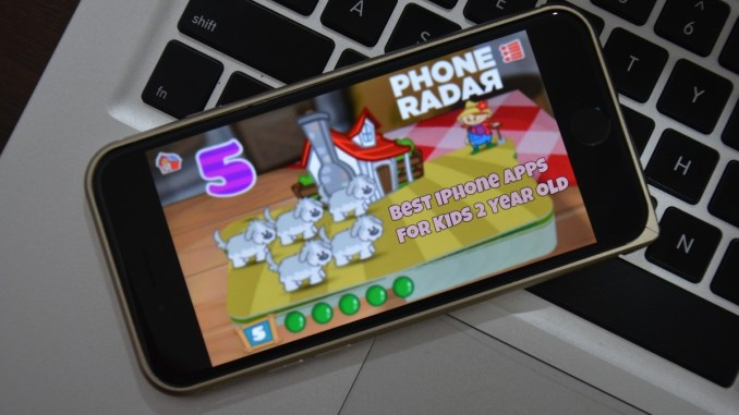 Best iPhone Apps for 2 Year Old