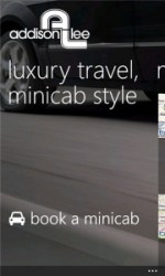 Addison Lee Windows Phone App