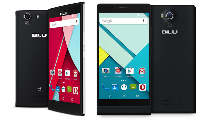 Blu Life One (2015) and Live 8 XL