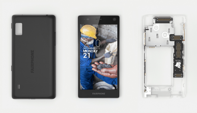 Fairphone 2 components