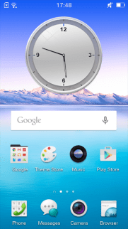 Oppo Neo 5 - Home Screen 1