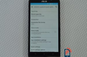 Asus Zenfone2 Delux Customization