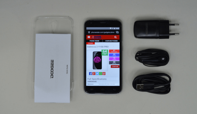 Doogee Y100 Pro unboxing featured image