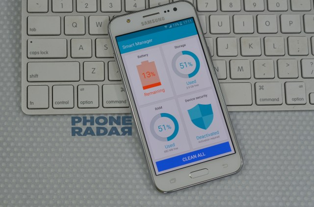 Samsung Galaxy J5  Smart Manager