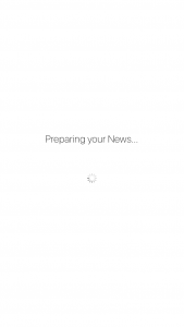 Apple News App Preparing