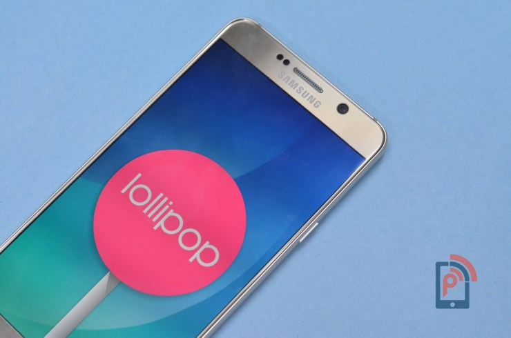 Samsung Galaxy Note 5 - Android Lollipop