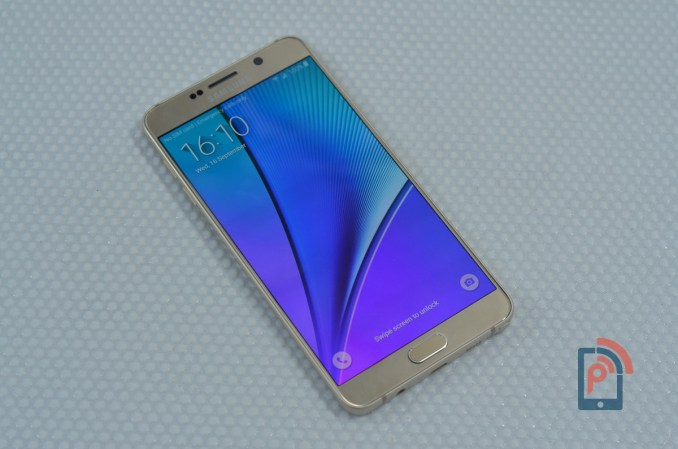 Samsung Galaxy Note 5 - Display