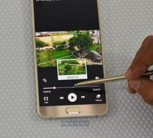 Samsung Galaxy Note 5 air view 4