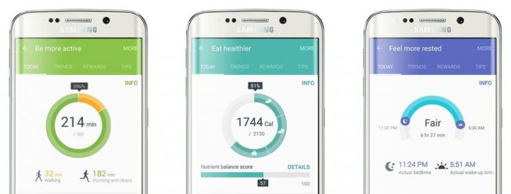 Samsung S Health Android App (2)