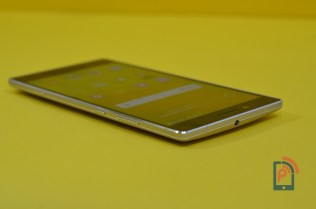 Gionee Elife E8 - Curved on Back