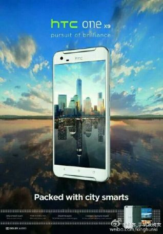 HTC One X9 Poster Leak
