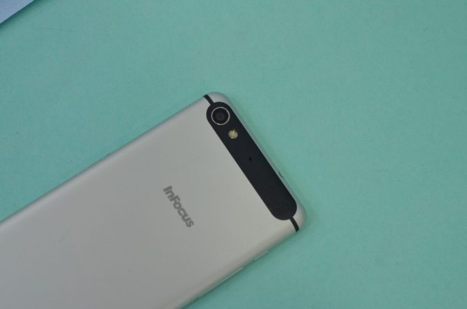 InFocus M808 Rear camera
