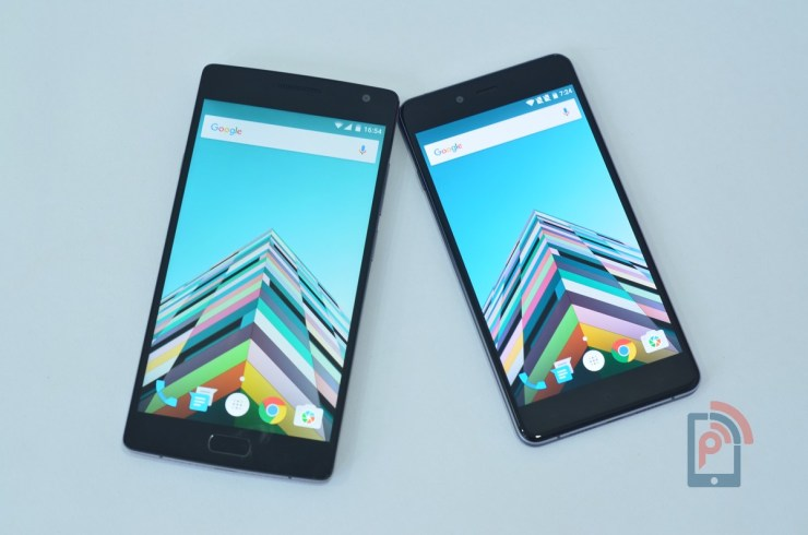 OnePlus X Vs OnePlus 2 - Display