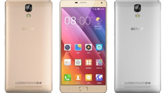 Gionee Marathon M5 Plus Images