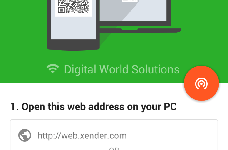 Xender Connect PC