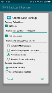 sms backup and restore app create backup