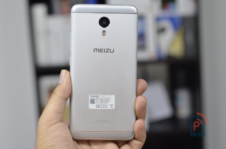 Meizu M3 Note - Rear side