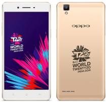 oppo F1 icc wt20 limited edition