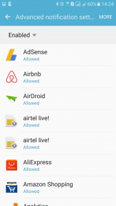 Notifications Allowed Android