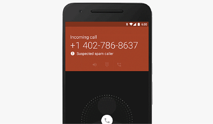 Android Phone Caller SPAM
