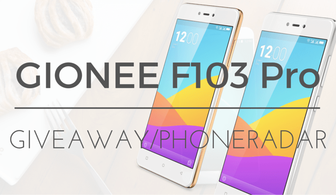 Gionee F103 Pro Giveaway